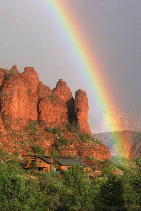 most repinned airbnbs: red rock retreat, sedona, arizona