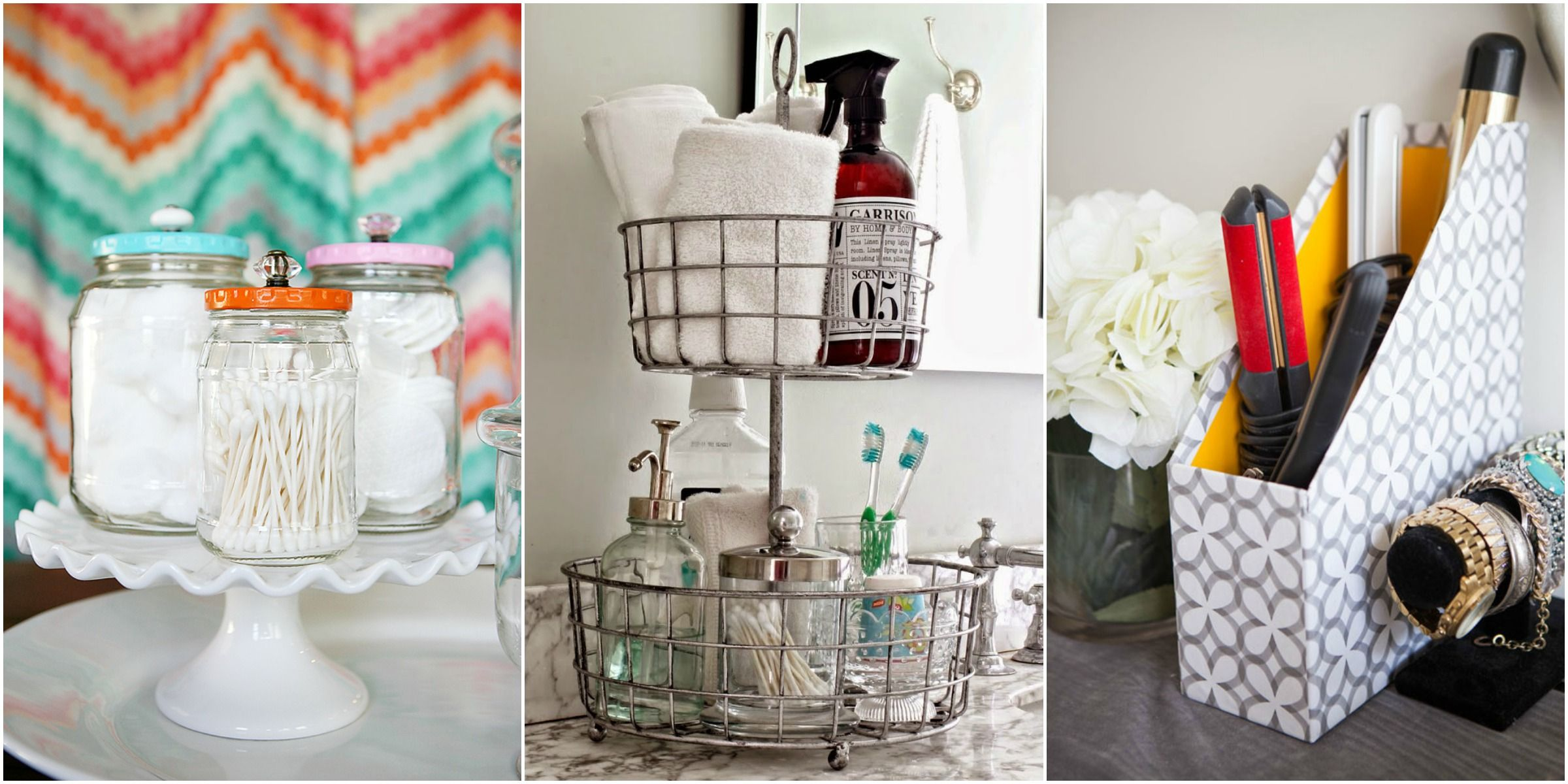 17 Bathroom Storage And Organization Ideas How To Organize Your Counter Vanity