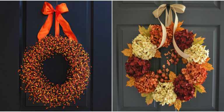 Whether You Or Diy These Festive Beauties Will Give Your Home Serious Curb Eal And Don T Miss Out On Our Wreath Ideas