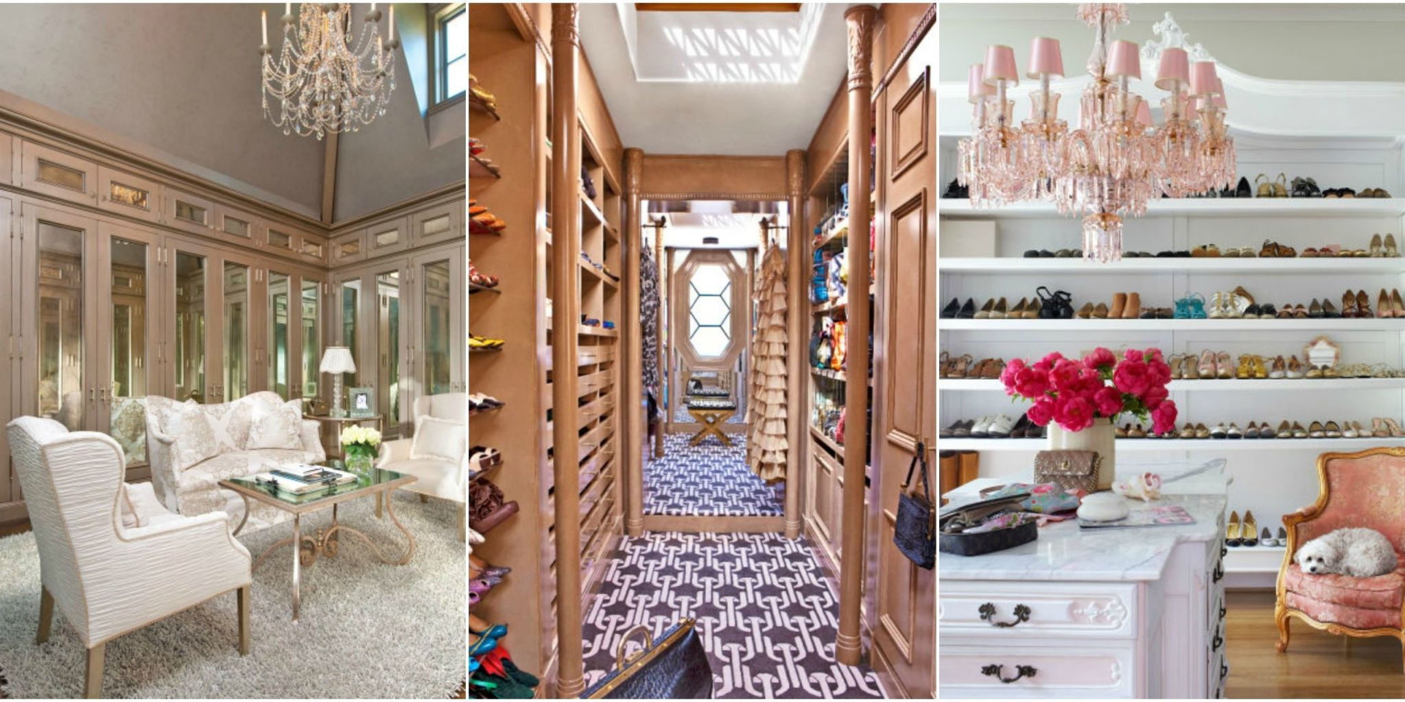 Walk in closet luxury design