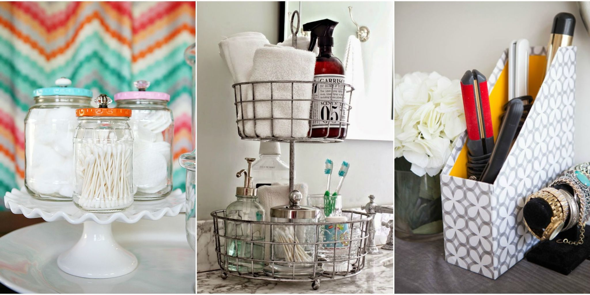 17 Organization Tricks to Make Your Bathroom Feel Twice as Big