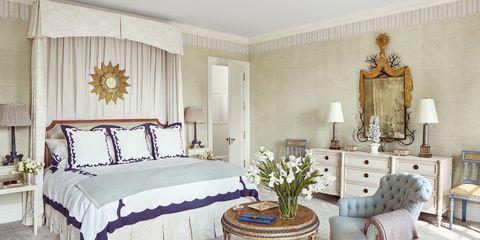 Celerie Kemble Cream Master Bedroom