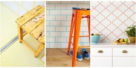 Colored Grout Is About to Steal Your Minimalist Heart