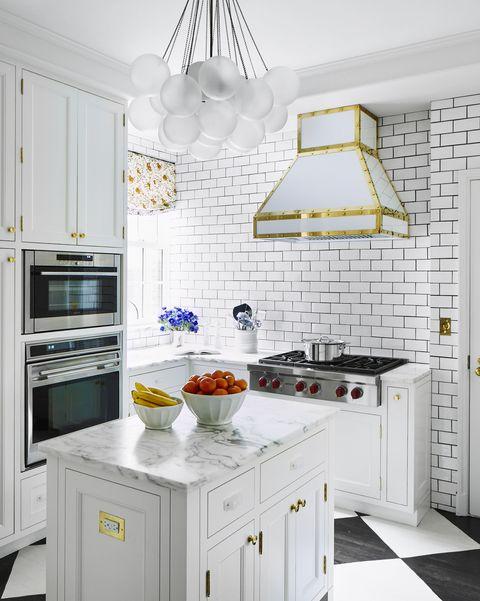Celerie Kemble White Kitchen