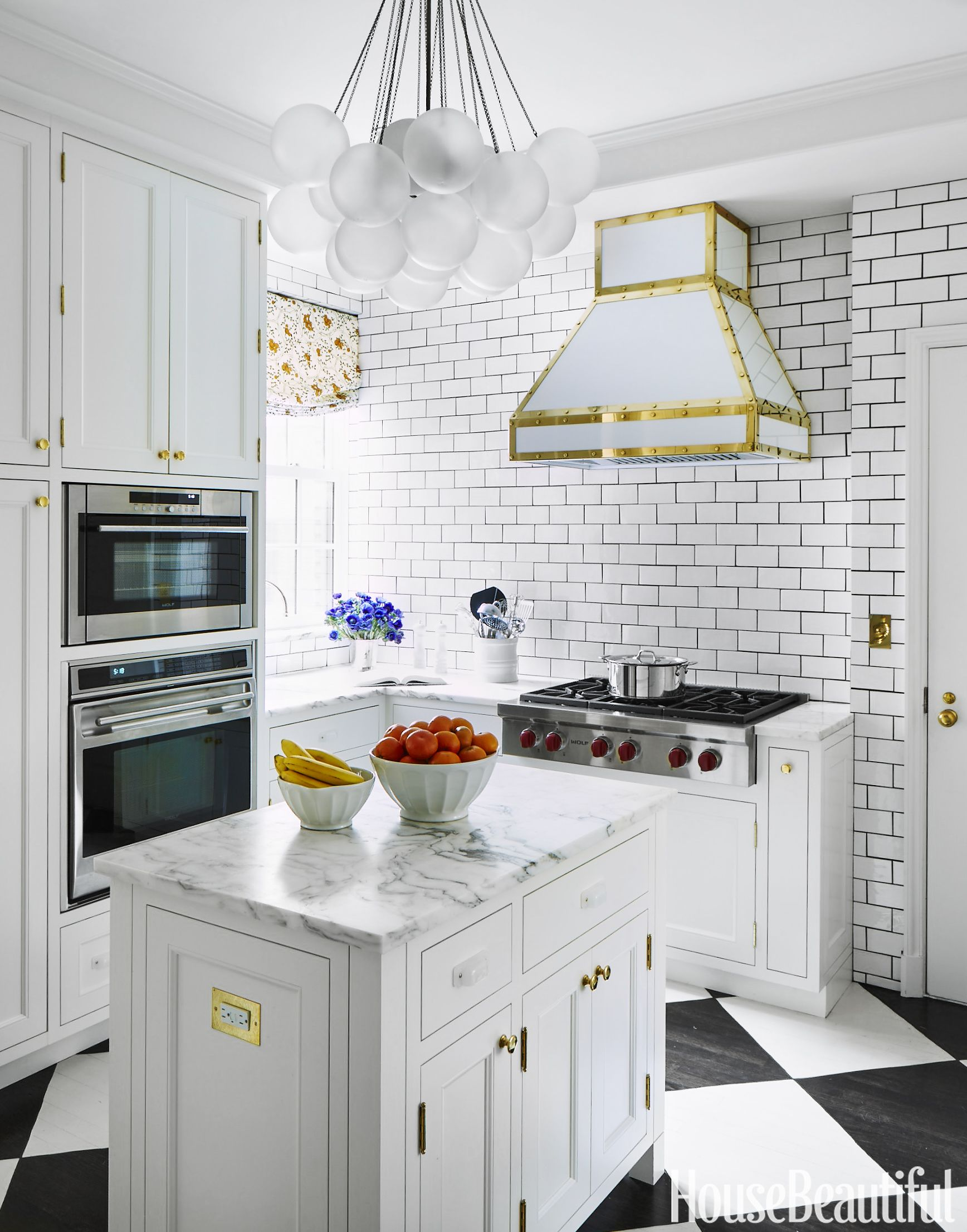 Celerie Kemble White Kitchen
