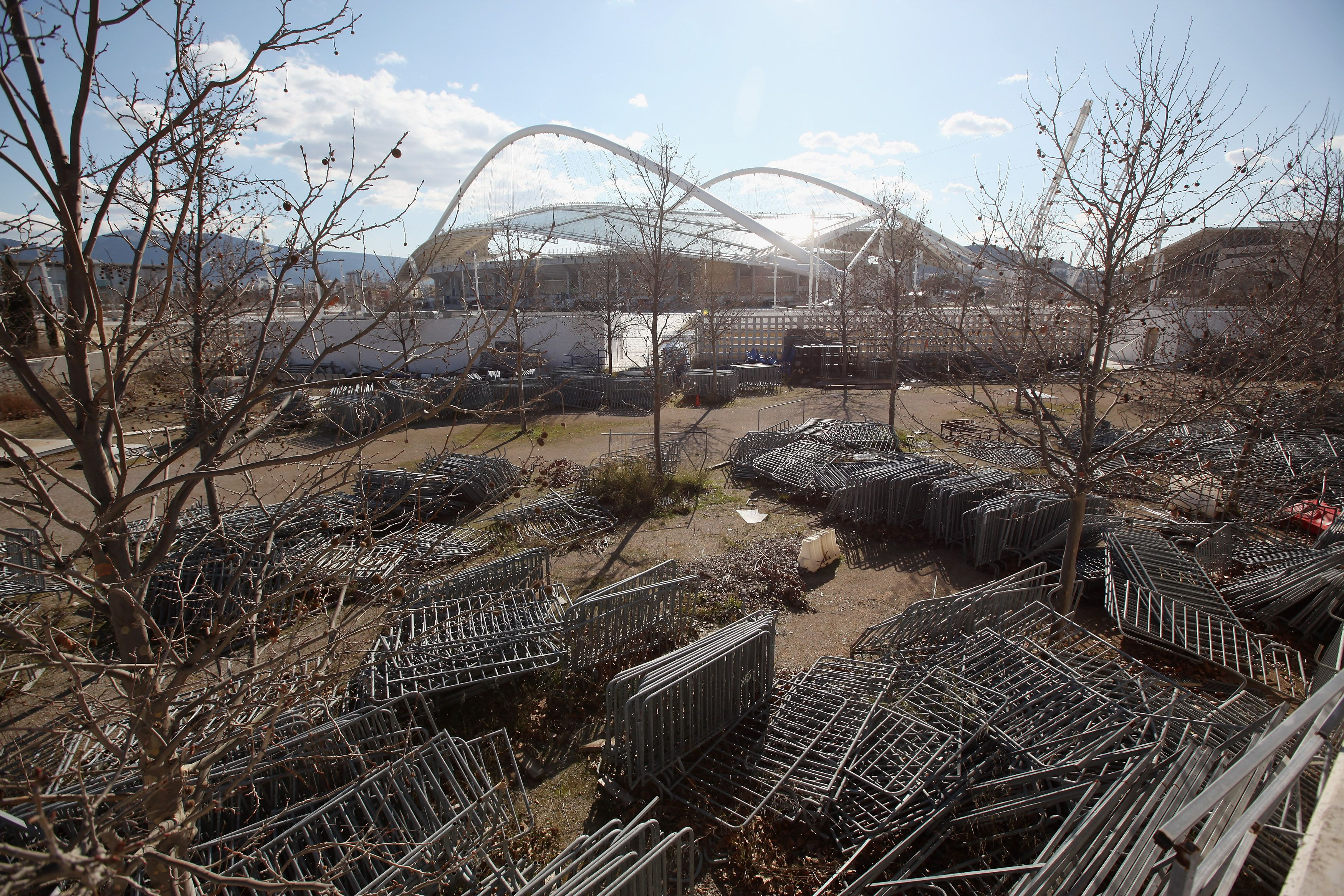 Abandoned Olympic facilities today