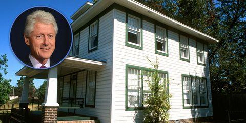 Bill Clinton's childhood home