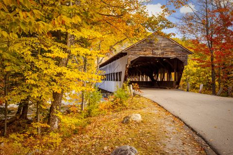 new england small towns: albany, new hampshire