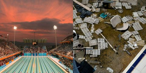olympic venues then and now