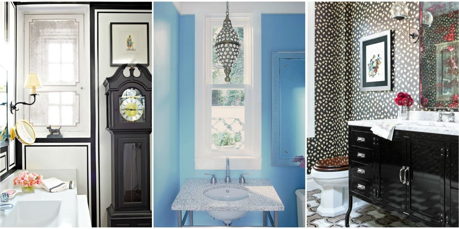 40 Gorgeous Powder Rooms With Images of bathrooms