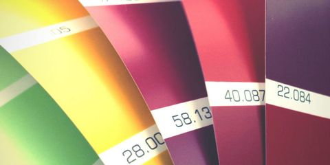 color swatches for the world's ugliest color