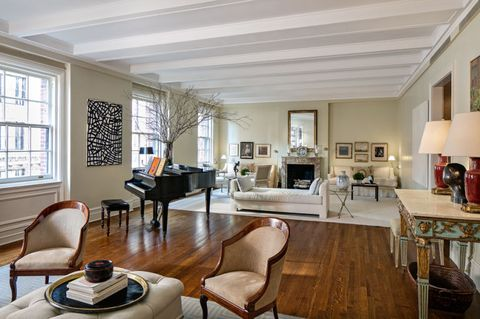 ina garten, nyc apartment living room