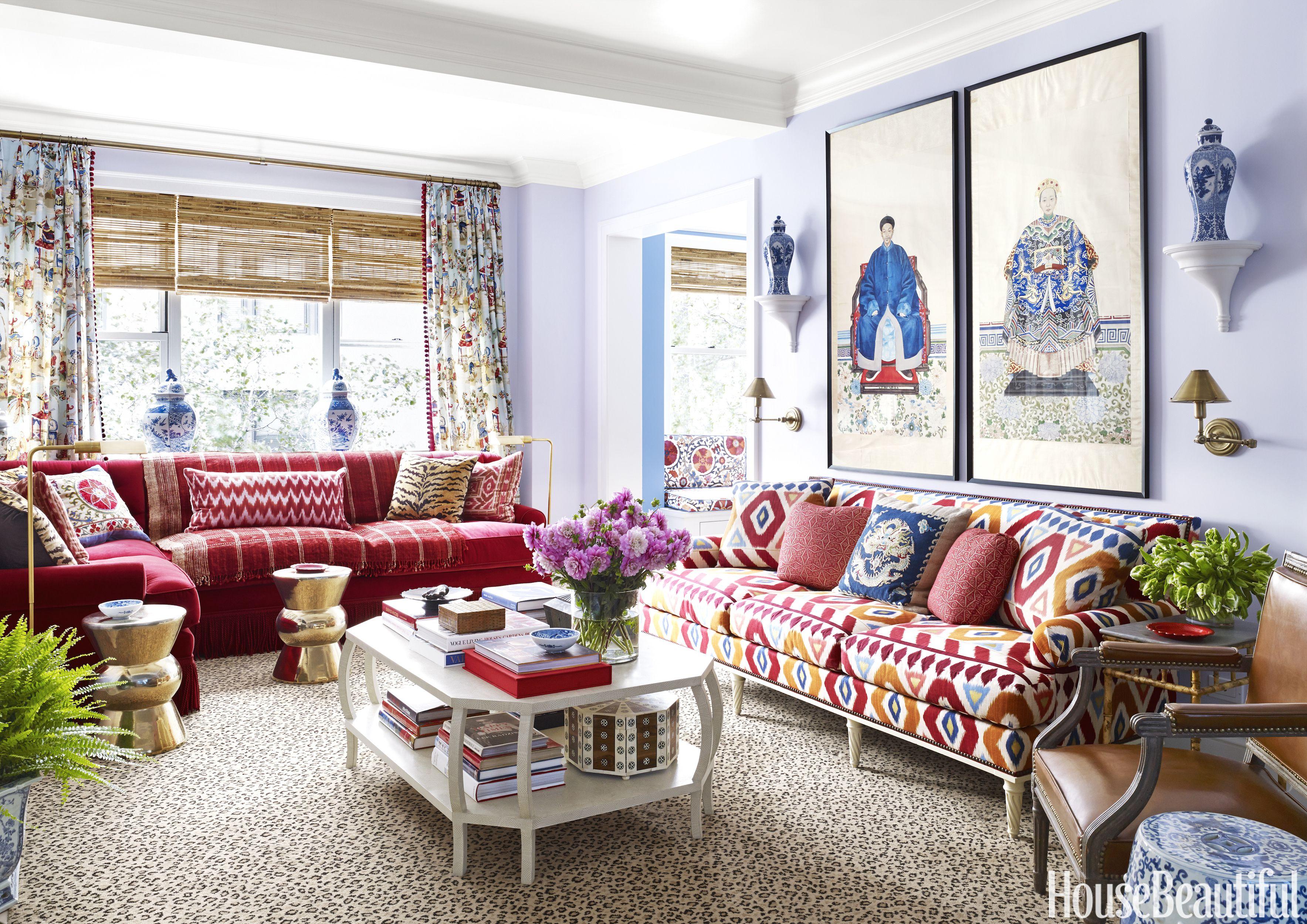 Colorful Decorating Advice Interior Designer