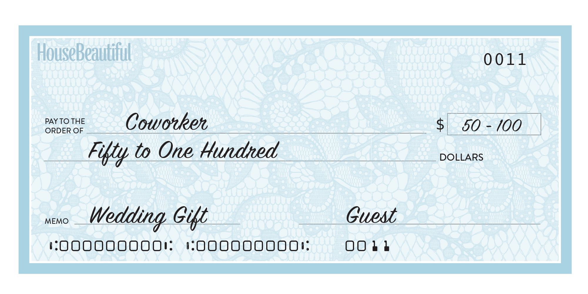 Wedding Etiquette How Much Money To Give - Tbrb.info