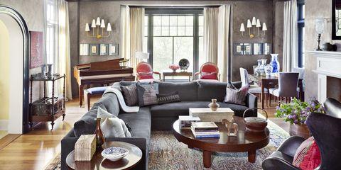 Mona Hajj Gray Family Room