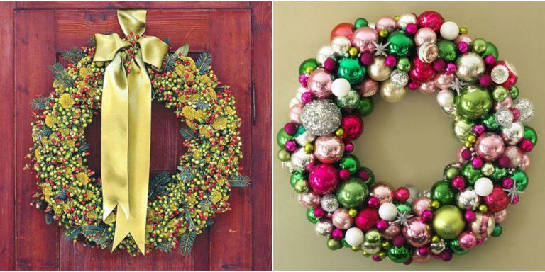 42 diy christmas wreaths how to make a holiday wreath a solutioingenieria Choice Image