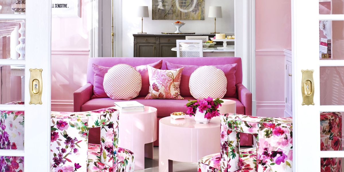 Pink Decorating Ideas - Interior Designer Suellen Gregory