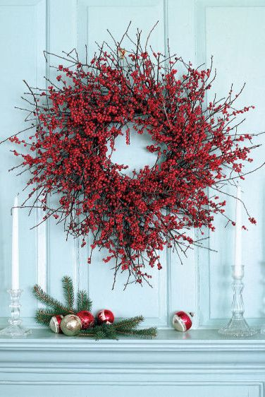 merry christmas and happy new year - christmas wreath