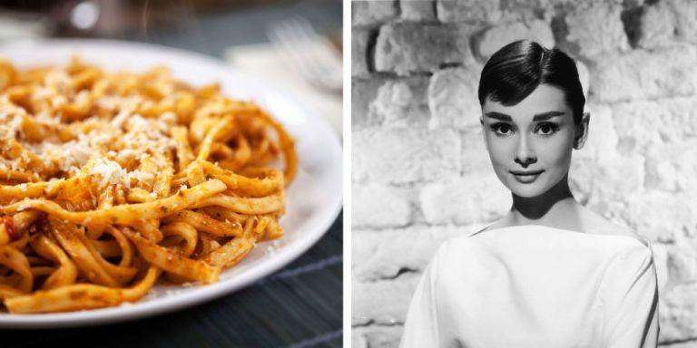 You'll Want to Bookmark Audrey Hepburn's Spaghetti al Pomodoro Recipe