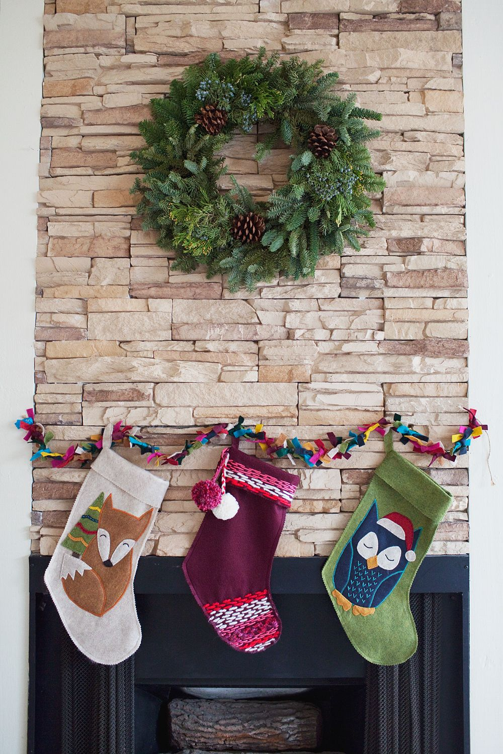 18 Unique Christmas Stockings - Best DIY Ideas for Holiday Stockings