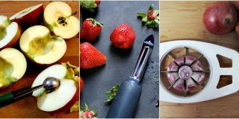 Fruit, Food, Natural foods, Produce, Pink, Vegan nutrition, Ingredient, Strawberry, Purple, Strawberries,