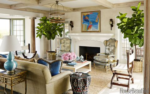 Colleen Bashaw Beach House Living Room