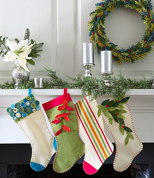 18 unique christmas stockings best diy ideas for holiday stockings - Homemade Christmas Stockings