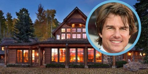 Tom Cruise's Colorado Mansion Is Still For Sale at $59 Million