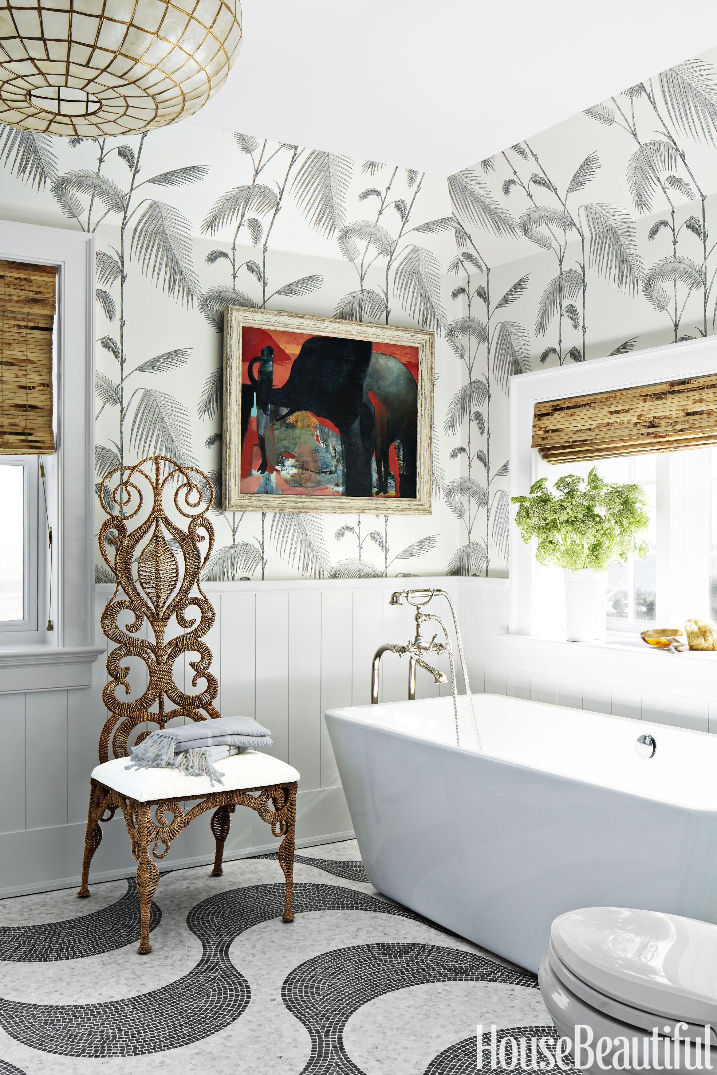 Exceptionnel Colleen Bashaw White And Gray Bathroom
