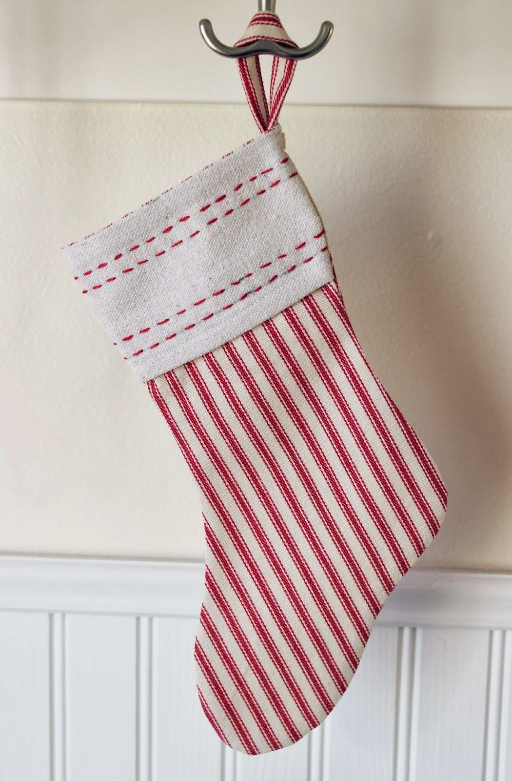 4cd044125cf 18 Unique Christmas Stockings - Best DIY Ideas for Holiday Stockings