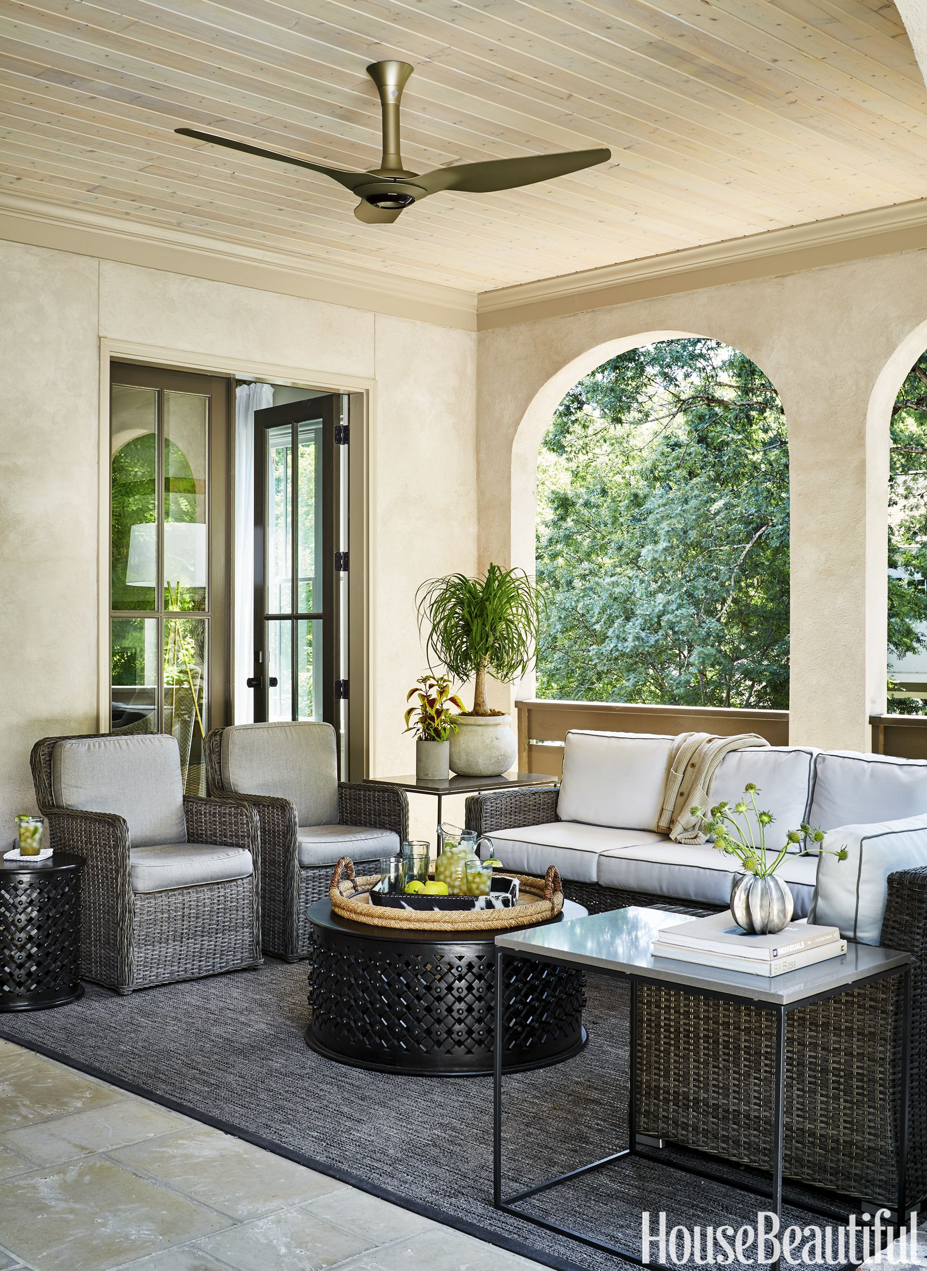 House Beautiful Living Rooms 85 Patio And Outdoor Room Design Ideas And Photos