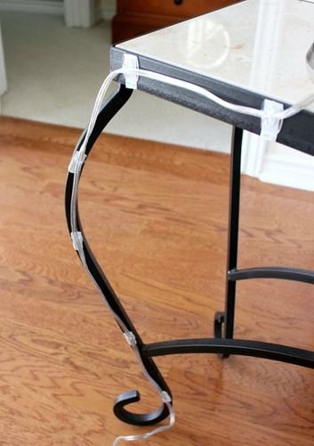 sneaky ways to use command hooks and strips, hide cords