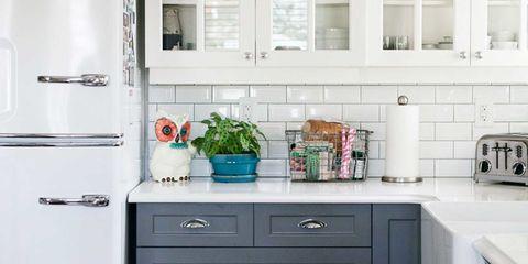 Room, Green, White, Drawer, Interior design, Cabinetry, Fixture, Countertop, Interior design, Kitchen,