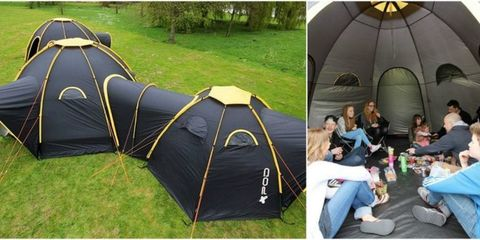 These Insane Tents Will Turn Camping Into One Big Party