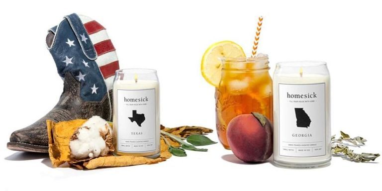Cure Your Homesickness With These State-Scented Candles