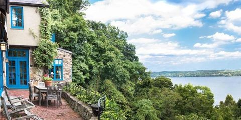 Charming New York Stone House Will Transport You Straight to Provincial France