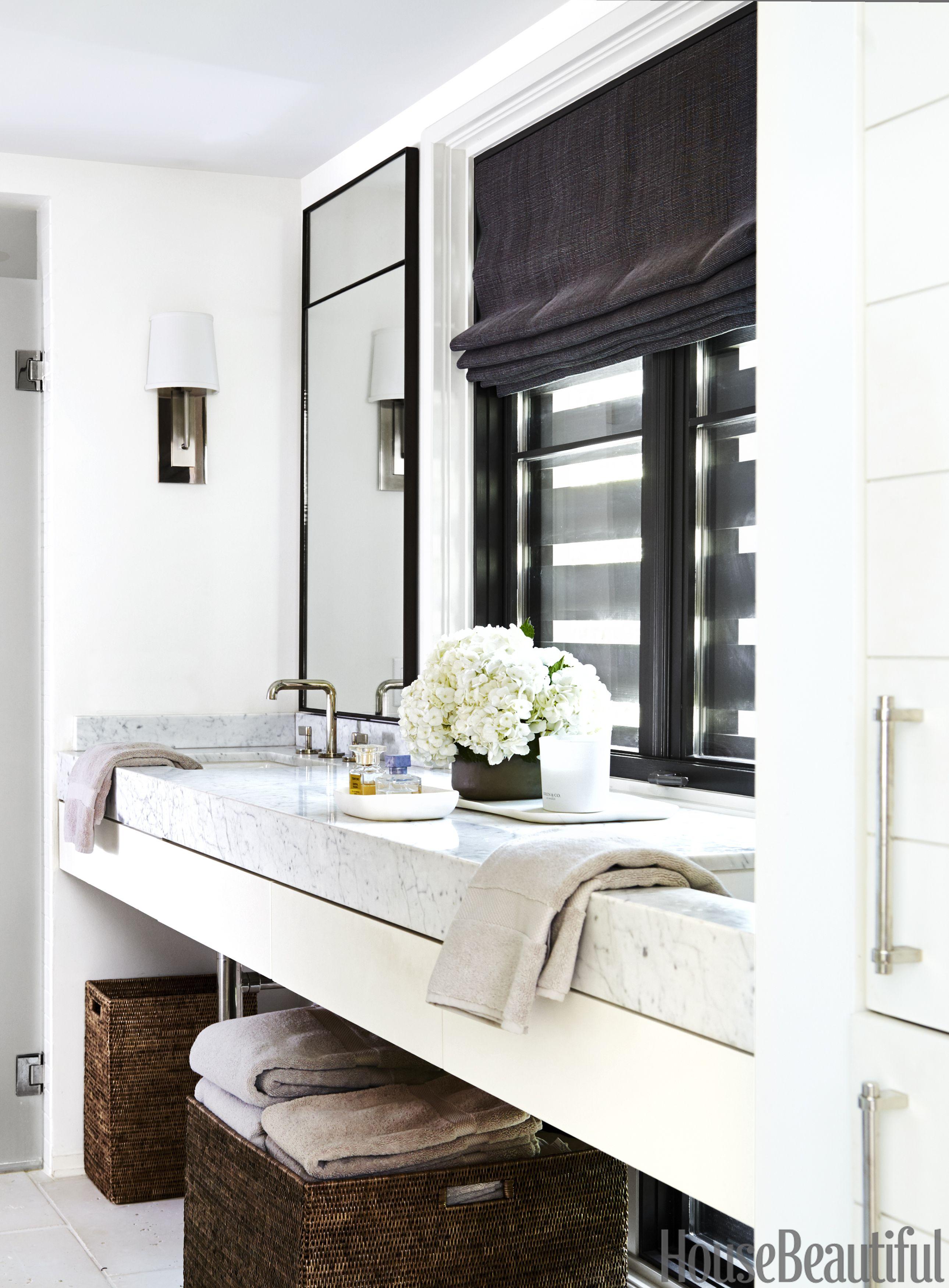 black and white bathroom & 25 Small Bathroom Design Ideas - Small Bathroom Solutions