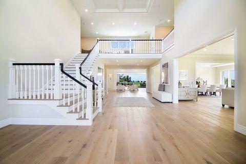 Wood, Floor, Flooring, Interior design, Property, Wood flooring, Architecture, Hardwood, Laminate flooring, White,