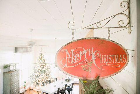 Holiday, Christmas decoration, Christmas ornament, Signage, Electricity, Holiday ornament, Ornament, Christmas, Peach, Christmas eve,