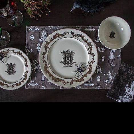 Haunted Mansion Plates