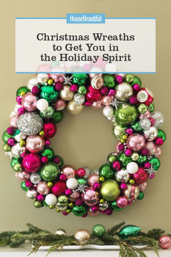 30 diy christmas wreaths how to make a holiday wreath solutioingenieria Gallery