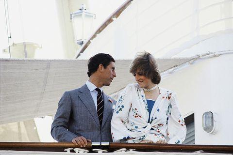 Princess Diana Honeymoon Yacht