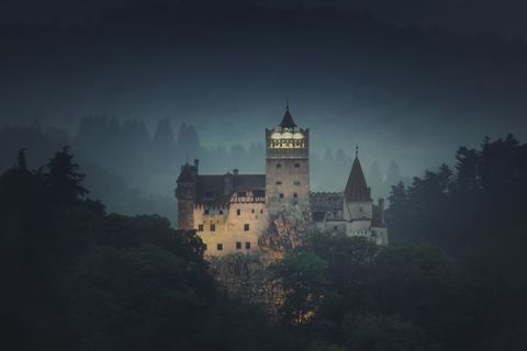 Count Dracula mansion