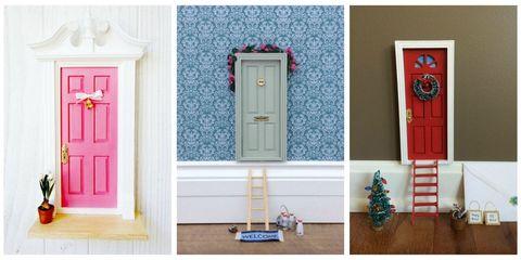 Fairy Door Collage