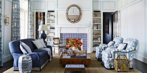 Andrew Howard Blue and White Beach House