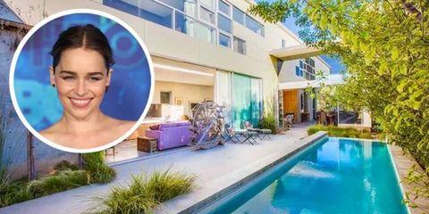 Emilia Clark's home