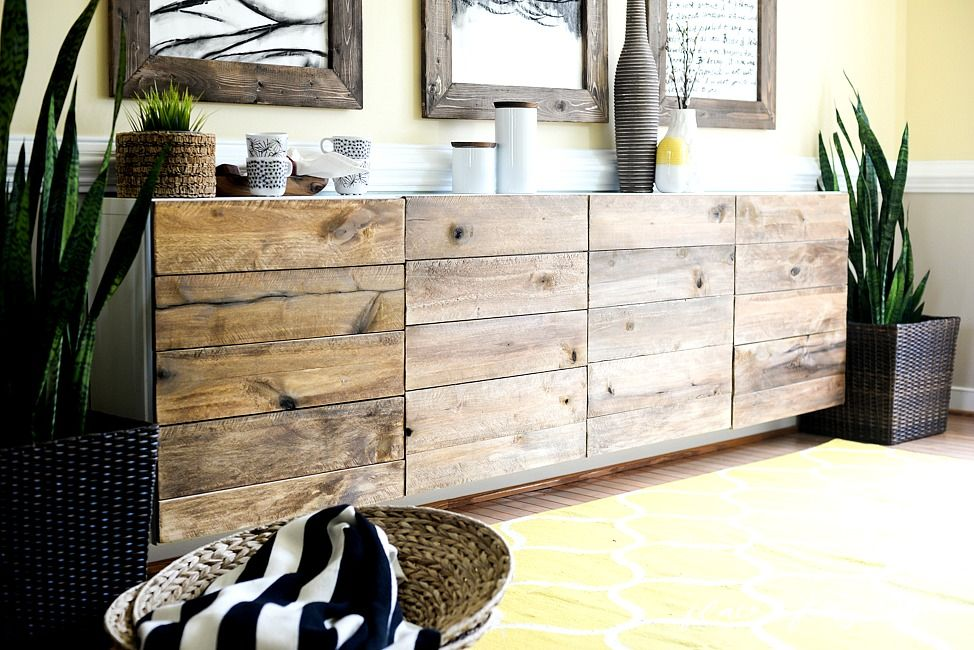 Credenza Billy Ikea : Superfront sideboards built on ikea s besta frames