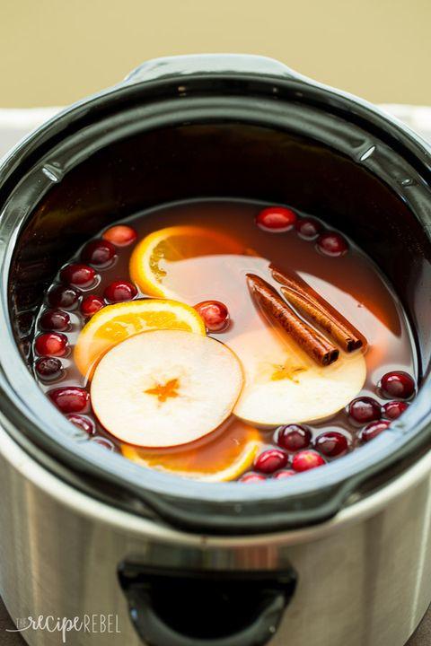 Slow Cooker Cranberry Apple Cider
