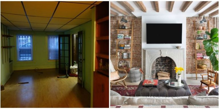 Brooklyn Townhouse Makeover Before And After Townhouse