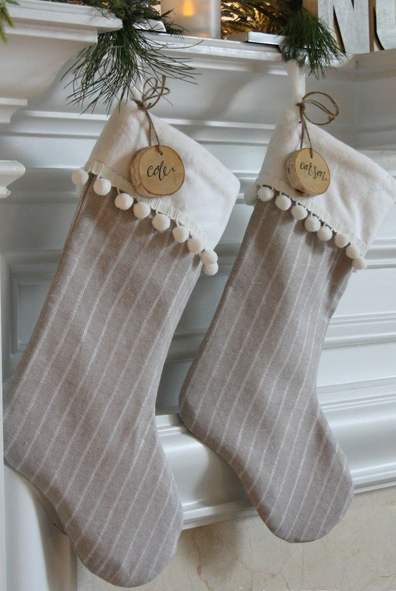 20 Fun Personalized Christmas Stockings - Monogrammed, Knit and ...